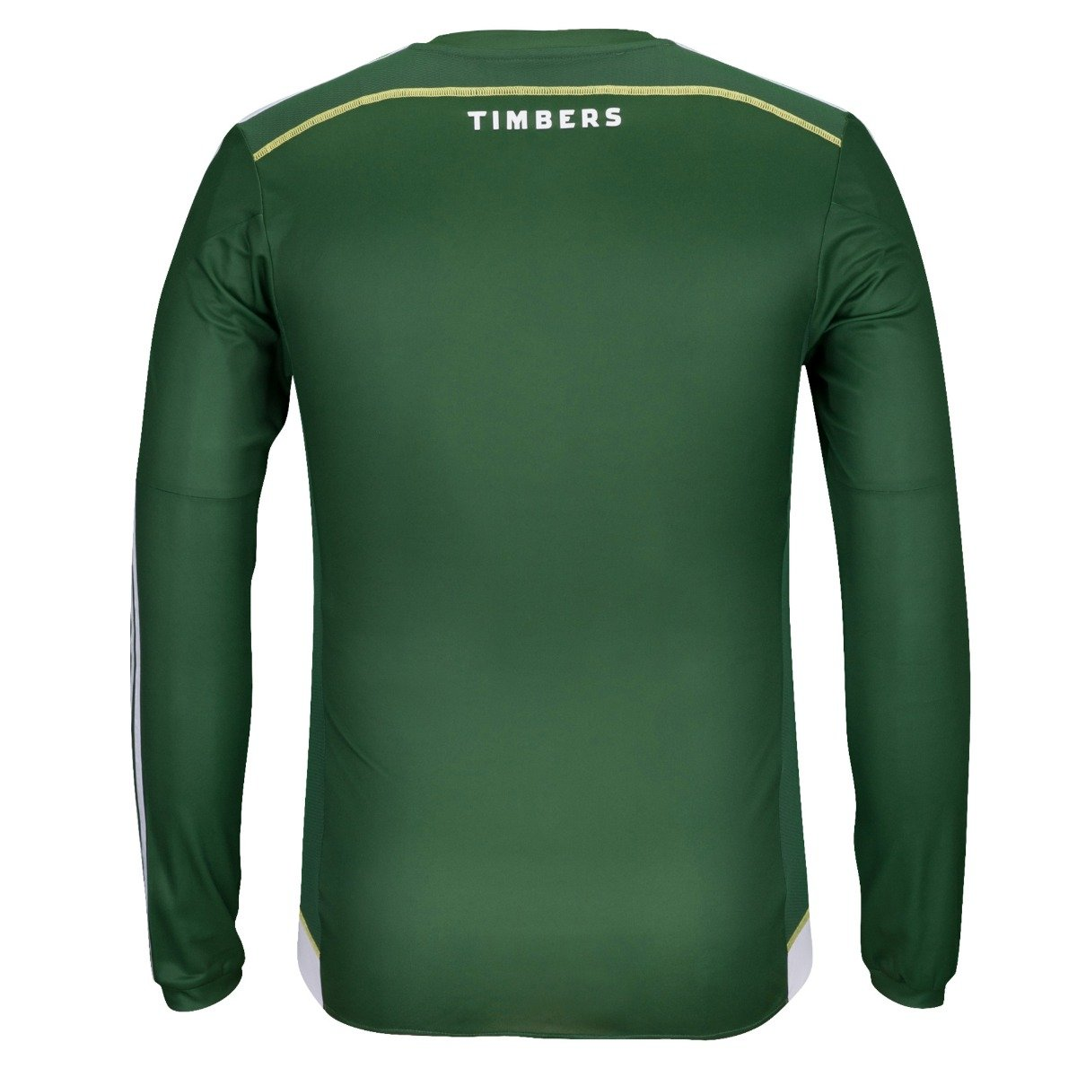 adidas Portland Timbers MLS Men's Green Authentic On Field Long Sleeve Jersey
