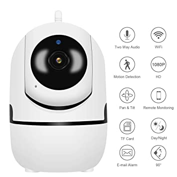 Amazon.com: Cámara de seguridad inalámbrica Jooan HD para el ...