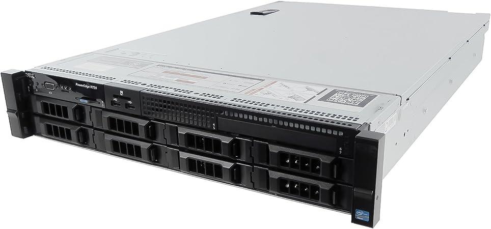 12TB Storage 2X E5-2697v2 24 Cores Renewed Dell PowerEdge R720xd Server H710 144GB RAM