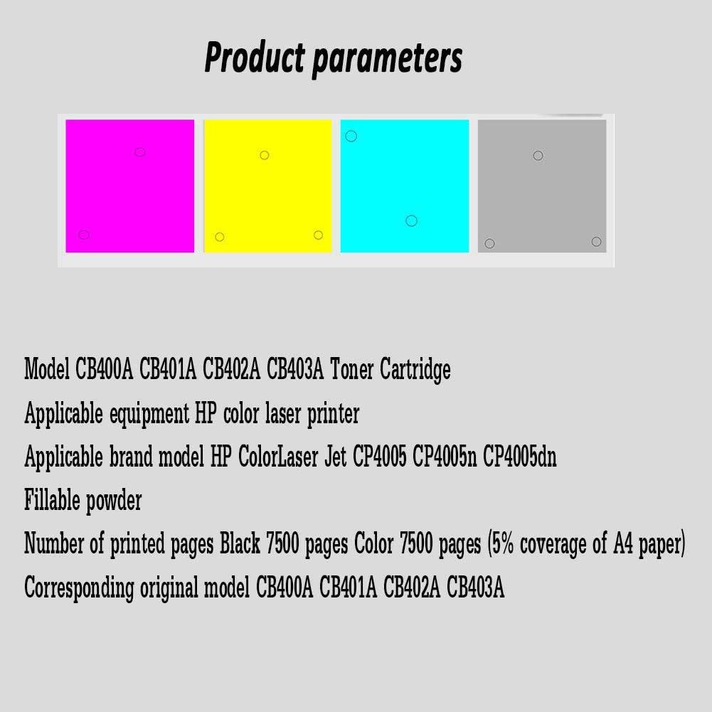 M181fw Printer Toner Cartridge 4 Color Suit-4colors M154nw M180 M181 Compatible with Hp Color Laserjet M154a 180n Original Code 204a Color Toner Cartridge