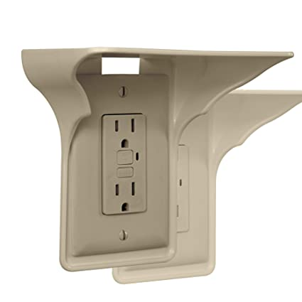 b87b386498 Amazon.com: Storage Theory   Power Perch   Ultimate Outlet Shelf ...