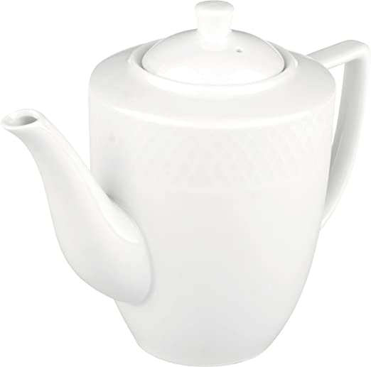 Wilmax WL-880111, 25 oz. Julia Collection - Cafetera de porcelana ...
