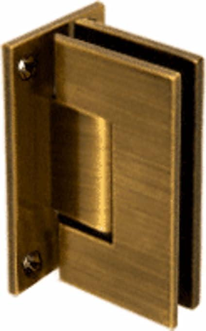 CRL Vienna 037 Series Antique Brass Wall Mount Shower Door Hinge   Shower  Doors   Amazon.com