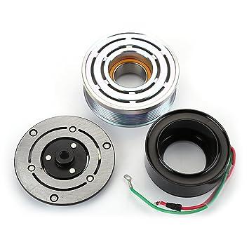 Ca a/c compresor Kit de embrague Polea rodamientos placa de bobina para Honda CR