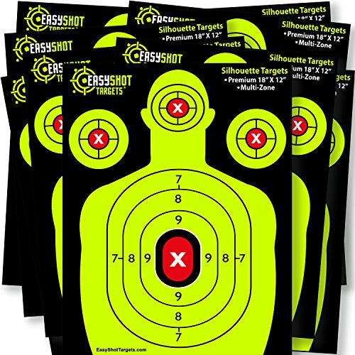 EASYSHOT SHOOTING TARGETS Heavy Grade Silhouette product image
