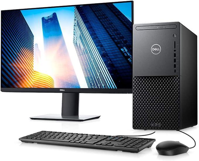 """Computador Desktop Dell XPS 8940-A30M 10ª G Intel Core i7 16GB 256GB SSD + 1TB HD GTX 1660 Win 10 Preto com Monitor 27"""" por Dell"""