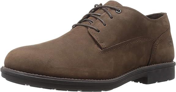 TALLA 43 EU. Timberland Stormbuck Plain Toe Waterproof, Zapatos de Cordones Oxford para Hombre