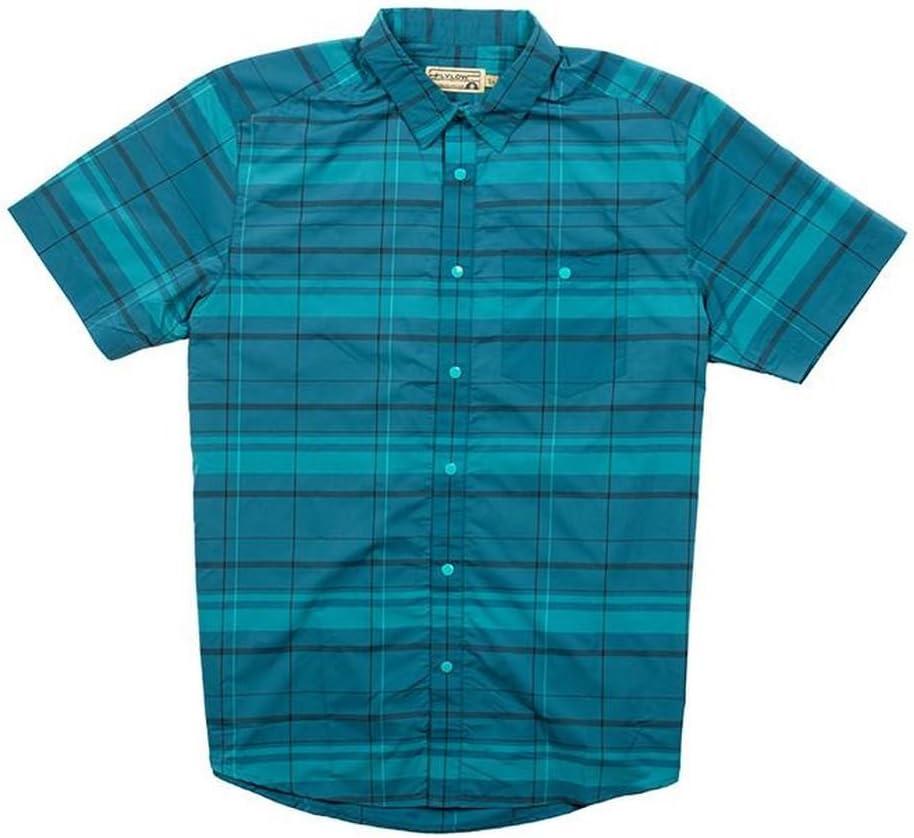 Mens Flylow Nelson Plaid SS Shirt