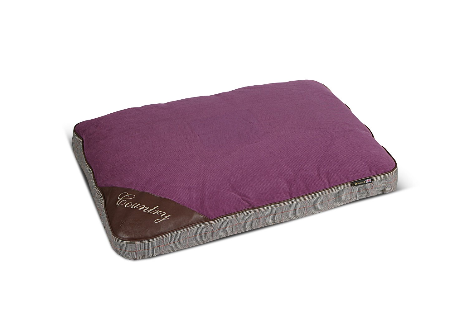 Scruffs Country Duvet for Pets, Medium, Mulberry