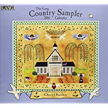 Perfect Timing Lang Country Sampler 2016 Wall Calendar by Cheryl Bartley, January 2016 to December 2016, 13.375x24-Inch (1001906)