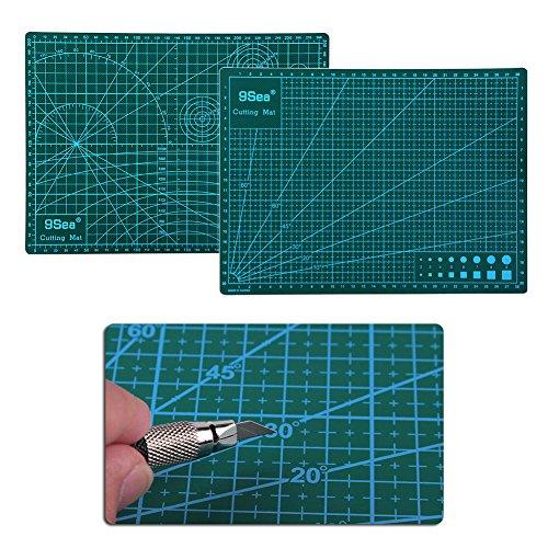 Mexud a4 pvc self healing cutting mat craft quilting grid for Self healing craft mat