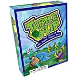 Turtle Flip Family Board Game – Cards Move Left and Right During The Game to Improve Memory and Number Counting Skills, Use at Home or in The Classroom, for All Ages, Kids and Adults 6 Years and Up
