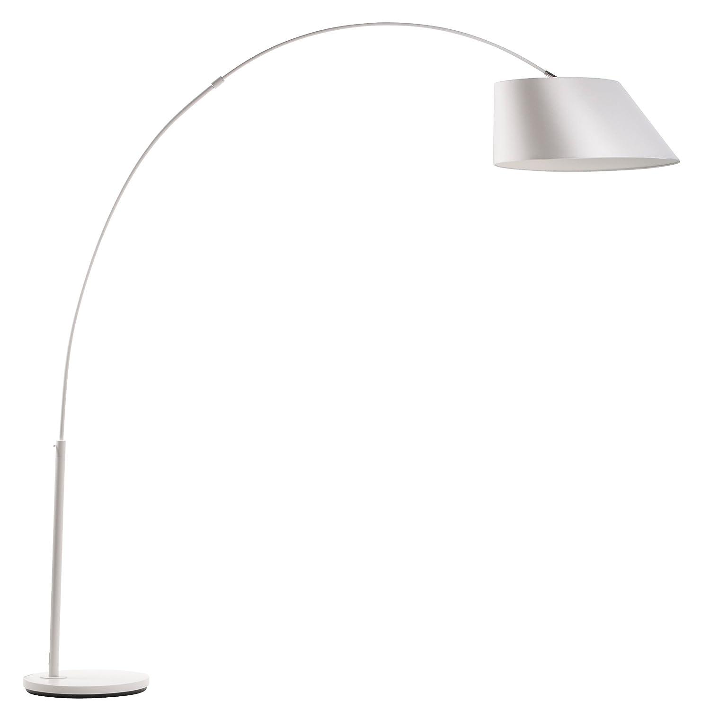 Zuiver Stehlampe Arc Weiss Amazon De Kuche Haushalt