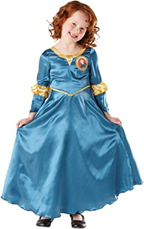 Disney - Disfraz infantil de Merida clásico (Rubies I-881877S ...