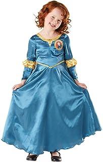 Brave - Disfraz de Mérida Deluxe para niña, infantil 3-4 años ...