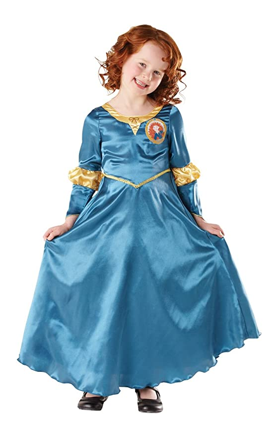 Disney Disfraz infantil de Merida clásico (Rubies I-881877M): Amazon.es: Juguetes y juegos
