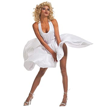 Déguisement Costume Sexy Marilyn Robe Pour Femme Diva Monroe Marylin 8NPkOnw0X