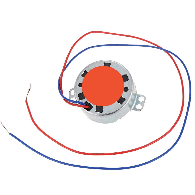 SNOWINSPRING AC Moteur Synchrone /à CA D/éPaisseur De 220V-240V 4W 3RPM CCW//CW 20mm