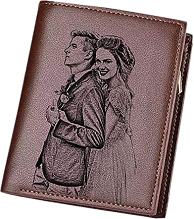 Personalized Sketch Photo Womens Long section Wallets Zipper Wallet Coin Purse Holders Christmas//Birthday Gift