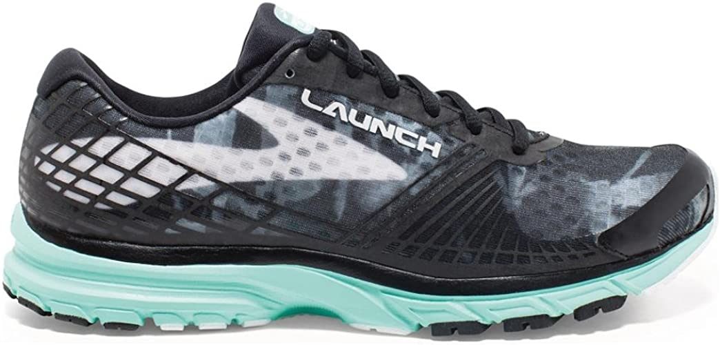 Brooks Launch 3 W, Zapatillas de Running para Mujer, Black/White ...