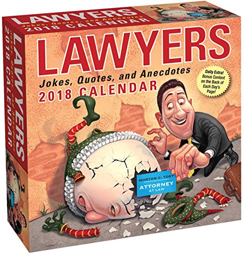 Lawyers 2018 Day-to-Day Calendar cover