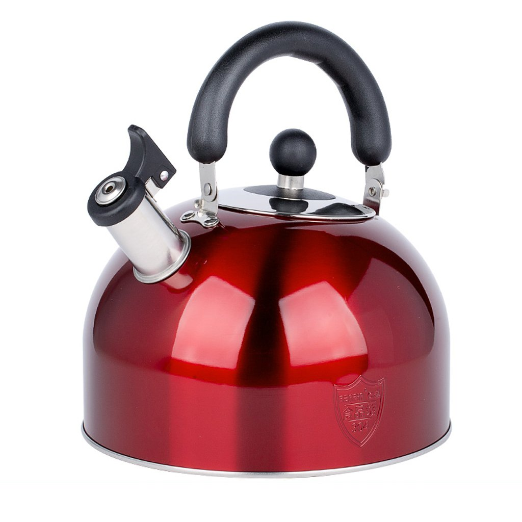 LXYFMS 304 Edelstahl Pfeife Verdickung Haushalt Induktionsherd Große Kapazität Wasserkocher Gas Gas 3/4/5 / 6l Wasserkocher (größe : 5L)