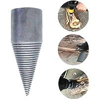 KIAN ABBOTT Splitting Wood Cone Drill Bit - Wood Splitter Screw Cones Log Wood Splitter Wood Breaker Tool for Household Use