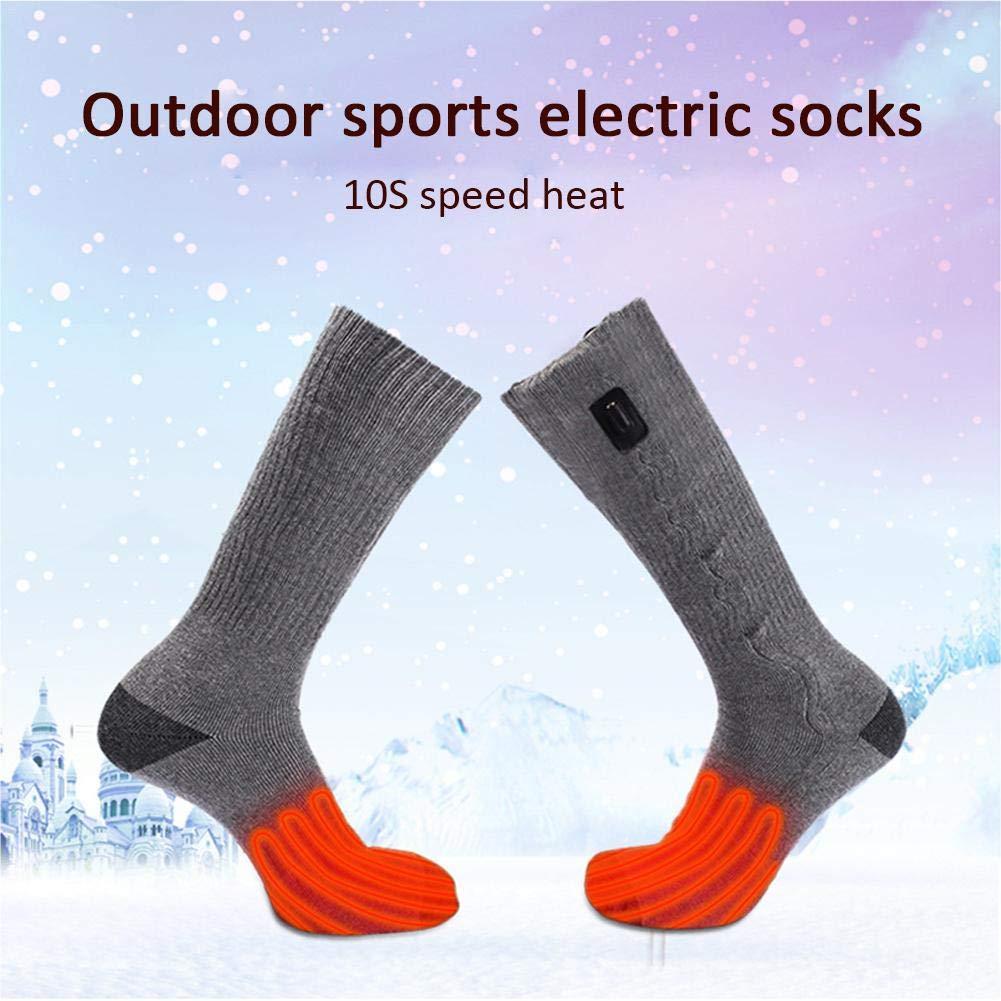 ... de pies/Calcetines térmicos/Calcetines Calefactable para esquí al Aire Libre, Deportes al Aire Libre, Caza, Camping, Senderismo, Pesca: Amazon.es: Hogar