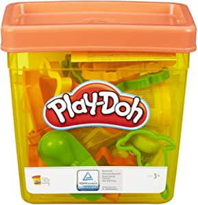 Play-Doh Fun Tub ,20 pieces and 5 Play-Doh colors
