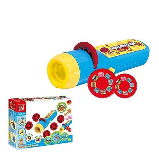 HEIRAO Antorcha proyector para niños, Linterna de proyección para ...