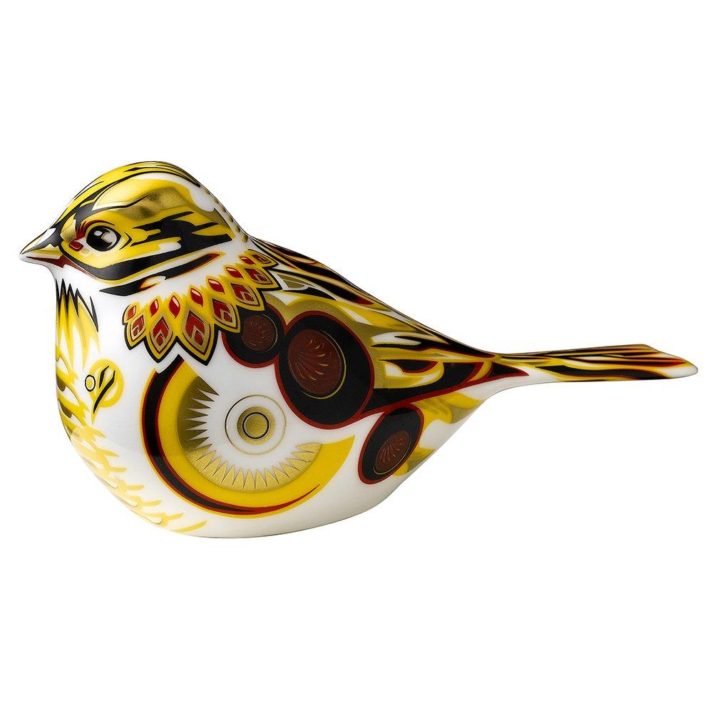 Royal Crown Derby YELLOW HAMMER BIRD