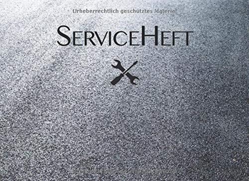 Serviceheft Universal Scheckheft Für Alle Und Marken Und Fahrzeuge Auto Lkw Pkw Motorrad Servicehefte Kfz Bücher