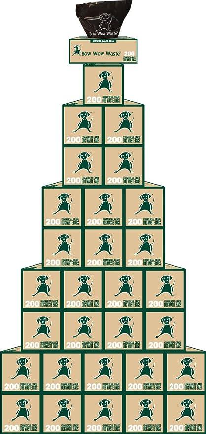 Amazon.com: 30 rollo funda bolsas de bolsas de residuos ...