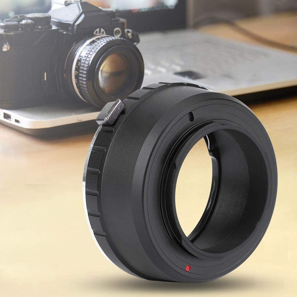 Qiilu Camera Manual Focus Lens Adapter Ring Fit for Pentax PK Mount Lens to Fit for X-pro1 Series Camera