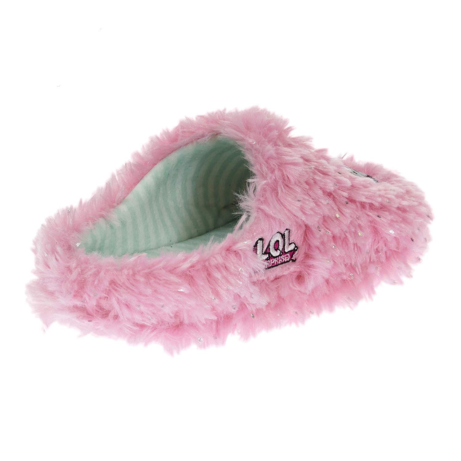 Surprise Girls Micro Terry Plush Clog Slip On Slippers L.O.L