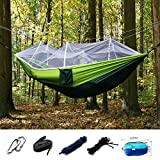 Forget The Tent Ideal as a tent replacement, this Mosquito Net Camping Hammock is lightweight, compact and can be taken anywhere.  Compact While Spacious When folded into it's attached stuff-sack, you won't even know it's in your backpack! It's small...