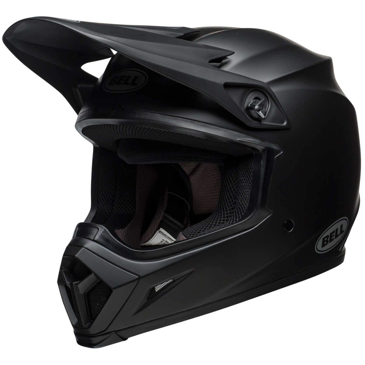 BELL HELMET MX-9 MIPS SOLID BLACK MATT M
