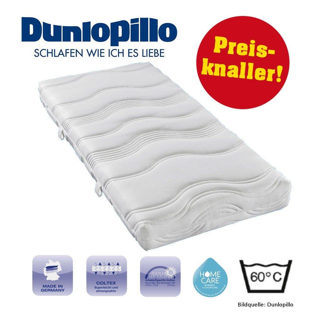 Amazonde Dunlopillo Kaltschaum Matratze 7 Zonen 120x200 H2 Otto NP449EUR