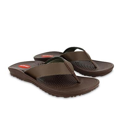 23b3bea4eb0b Okabashi Indigo Mens Two-Piece Flip Flop Sandal