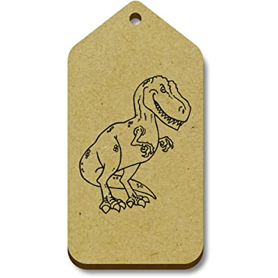 10 x 'Dinosaur' 66mm x 34mm Gift / Luggage Tags (TG00002715)