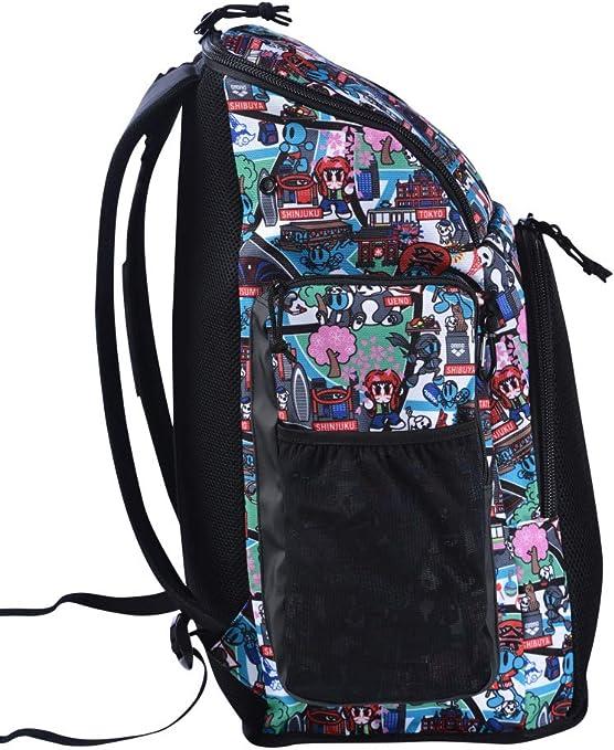 Talla /Única ARENA Bolsa Team Backpack 45 Allover Milkshake Unisex Adulto