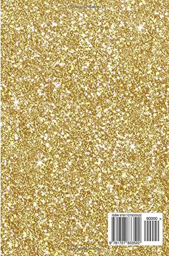 Amazon.com  Journal  Silver Unicorn Gold Faux Glitter Lined Paper ... ffaa8718a768