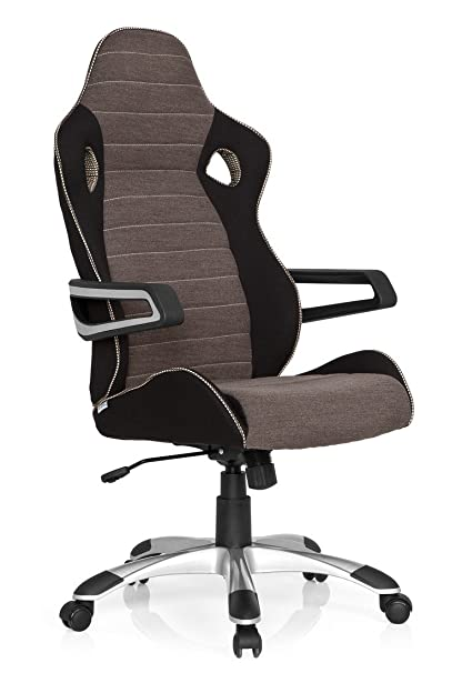 Office Noirgrisbeige TissuSiège Gamer Hjh Iv De Baquet Chaise En AccoudoirsDossier Bureau GamingFauteuil Pro 621849 Racer Avec hxQdtrCsB