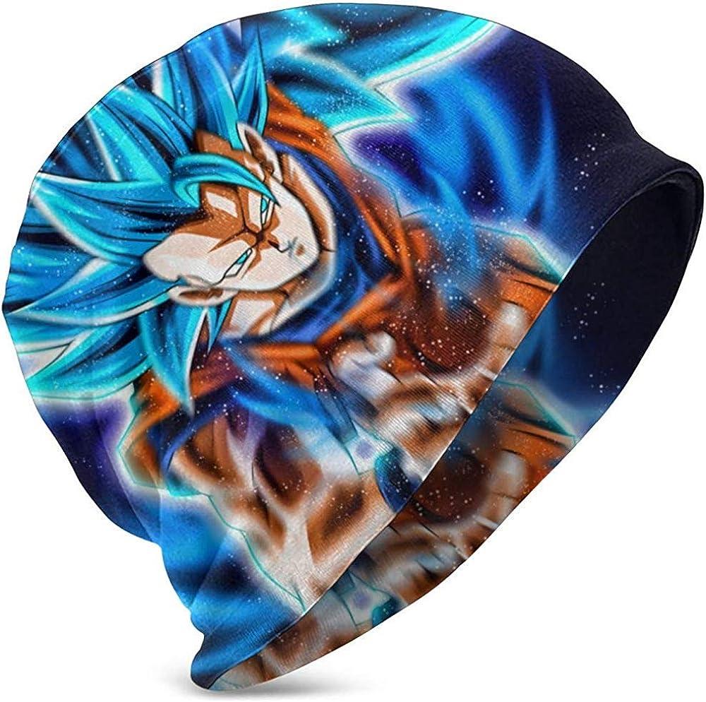 Cappellino da slittino Grosso KONeil Cappello a Cuffia Cappello a Cupola Dragon Ball Ultra Instinct Goku cap Cuffie Lunghe Cappelli Skullies Berretti