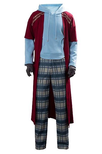 Cosfunmax Disfraz de Thor Gordo para Hombre, Disfraz de Halloween ...