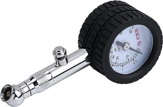 Acbungji Reifendruck Prüfer Luftdruckprüfer Reifendruckmesser Reifendruckprüfer Für Auto Kfz Pkw Motorrad Fahrrad Suv Utv Atv Mit 360 Drehbares Kugelgelenk 40mm Mini 4 2bar Auto