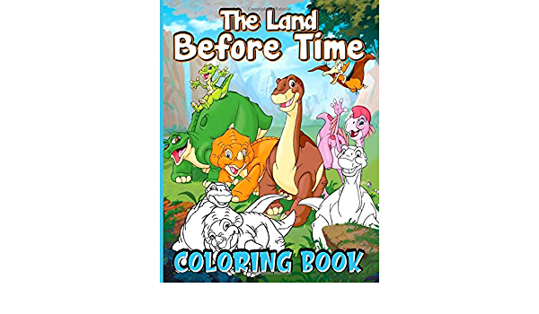 - The Land Before Time Coloring Book: Amazing The Land Before Time Adult Coloring  Books Colouring Page: Moss, Tomas: 9798642366073: Amazon.com: Books