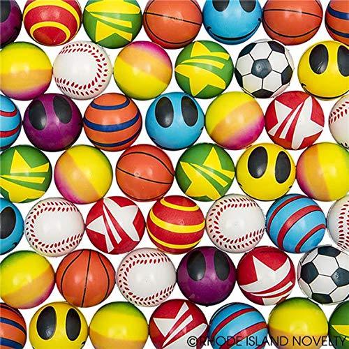 Rhode Island Novelty 2'' Mini Stress Balls Assortment | Pack of 50