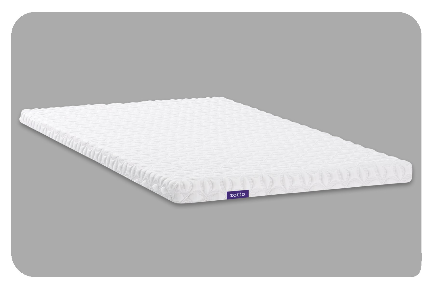 Zotto Premium 3'' Mattress Topper (Twin XL)