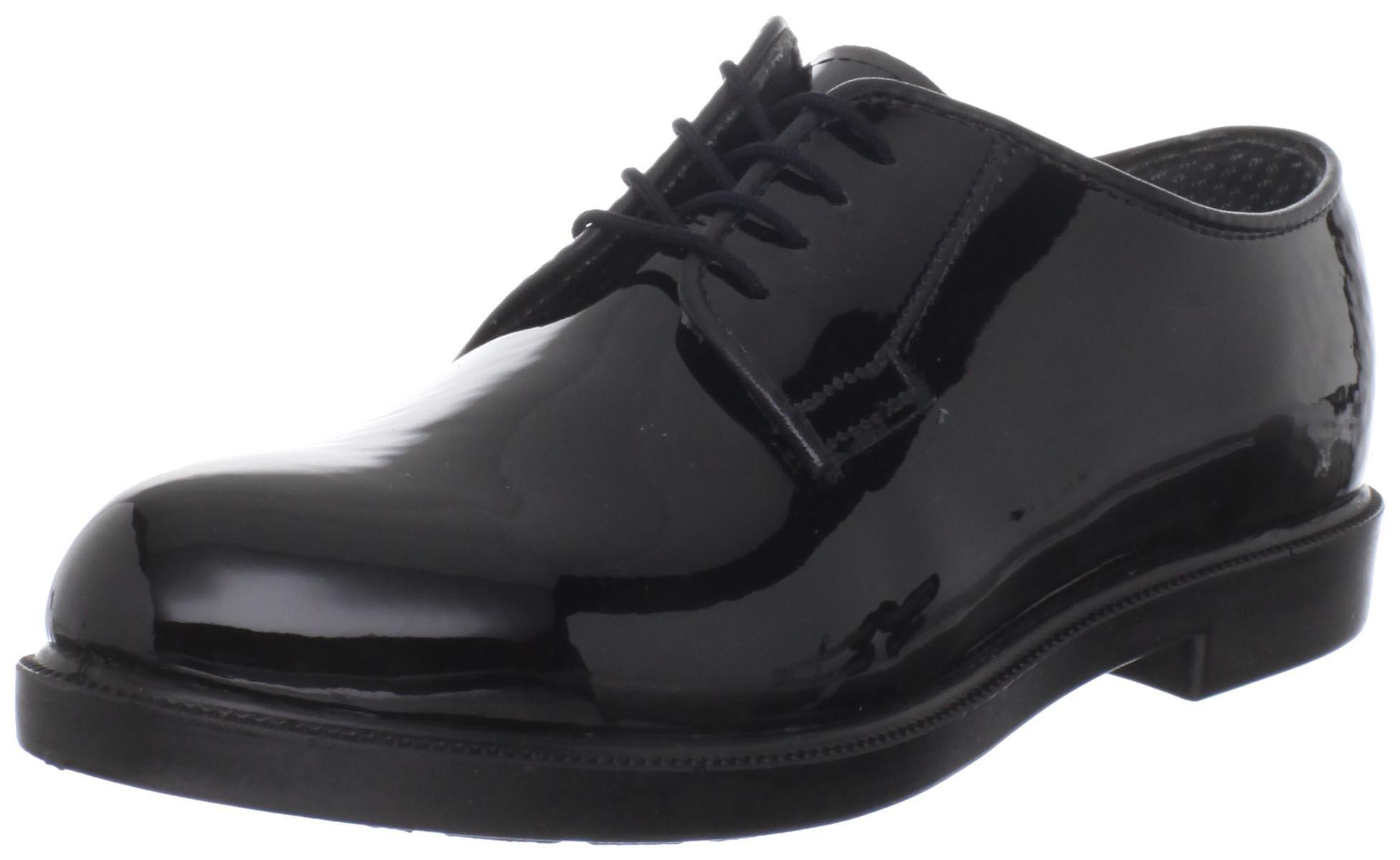 Women's Bates High Gloss DuraShocks® Oxford (5.5 EW in Black)